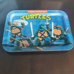 Vintage 1988 Teenage Mutant Ninja Turtles TV Tray
